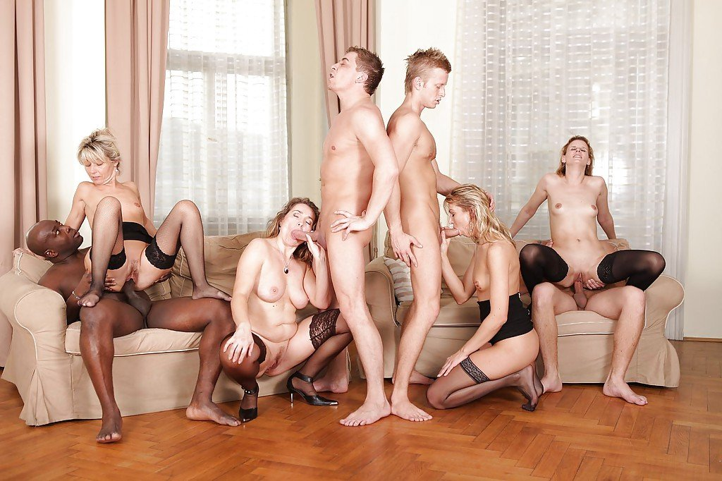 All female orgy the best time i accidentally