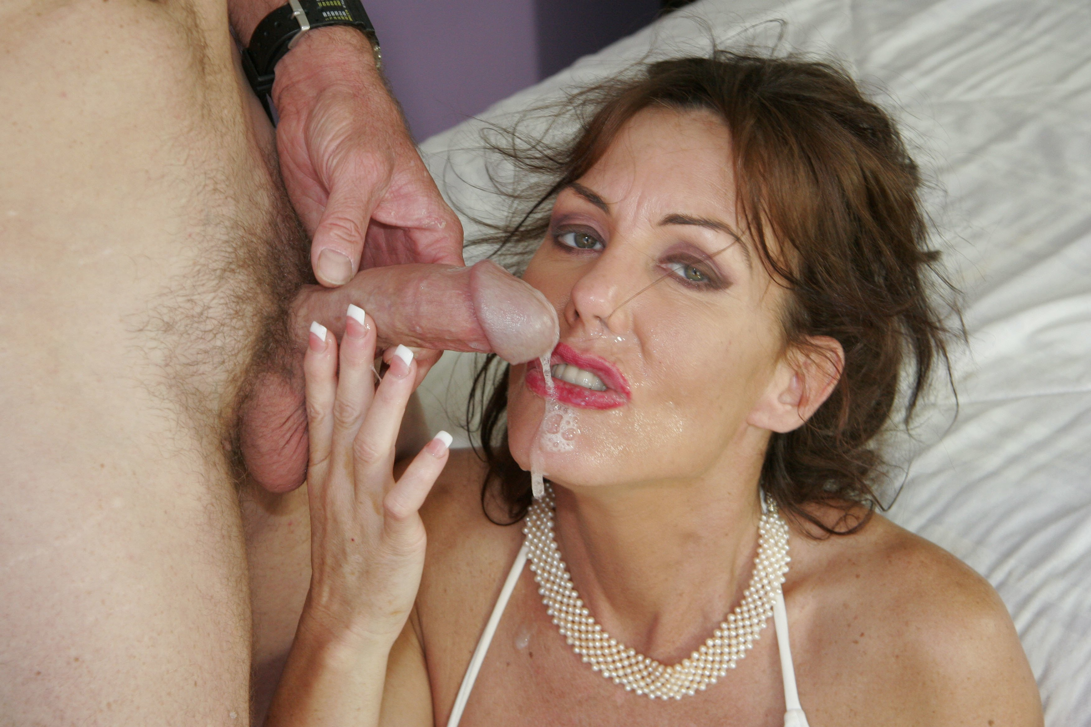 Milf Blowjob And Facial Cum In Mouth