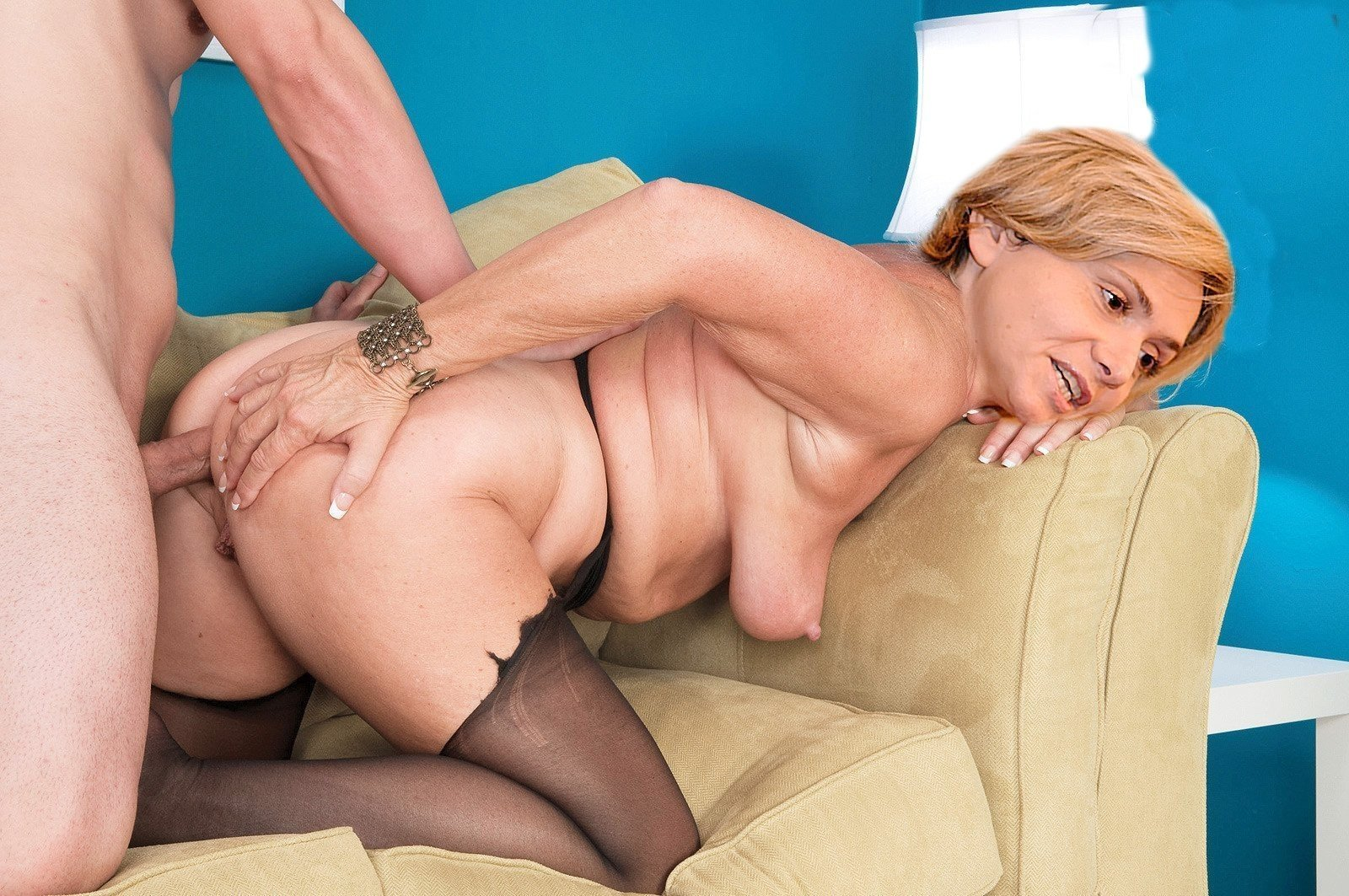 Granny Anal Big Tits Porn, Busty Granny Anal Sex Images
